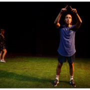 Chucho interpretada por Mafalda Bellido y Jordi Ballester en la sala Ultramar